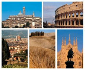 Learn Italian and travel around Italy with Leonardo da Vinci schools!