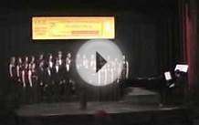 Chamber Singers sing Die Nachtigall • Italy