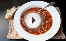 Minestrone Soup Recipe - Italian Vegetable and Pasta Soup